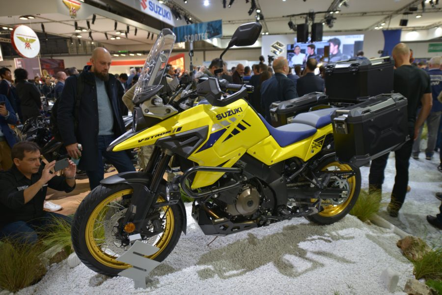 Sukuzi V-Strom 1050. The New Looks Old School (EICMA 2019)