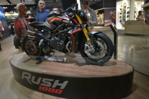 MV Agusta Rush. One adrenaline shot, please! (EICMA 2019)