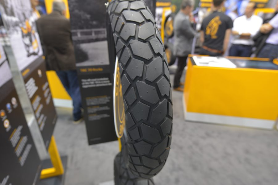 Continental TKC 70 Rocks. The name says it all (EICMA 2019)