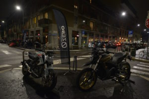 Zero Motorcycles at Officine Mermaid (Fuori/Outside EICMA 2019)