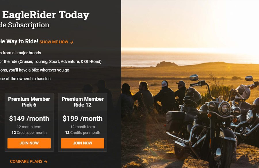 Is this a sign of a future where motorcycles are part of a membership plan? Photo: EagleRider