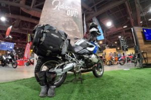 Mosko Moto latest in innovated luggage (IMS Long Beach 2019)