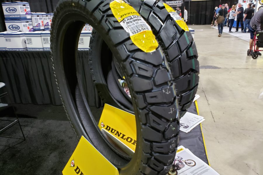 New TrailMax Mission tires from Dunlop. Photo: Zac Kurylyk