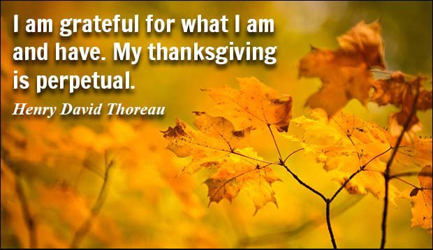 A Day Of Thanksgiving – More Than A Meal