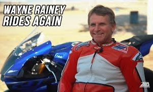 After 26 Years, Three Time MotoGP World Champion Wayne Rainey Rides Again