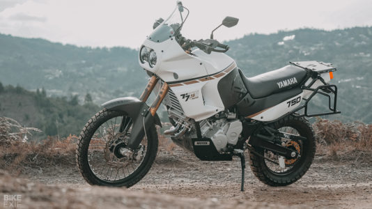 Custom Super Ténéré Yamaha XTZ 750 from Colombia