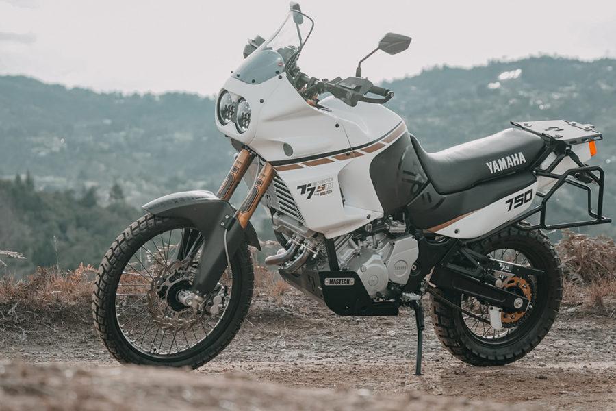 Custom Super Ténéré Yamaha XTZ 750 from Colombia