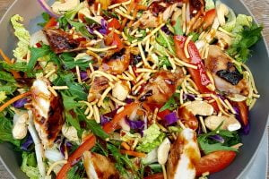 Honey Soy Chicken Salad. Photo @Kylie Day