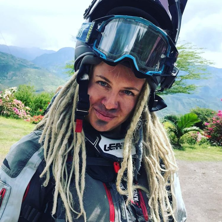 being a motorcycle tour guide