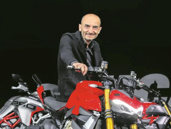 Ducati CEO Claudio Domenicali