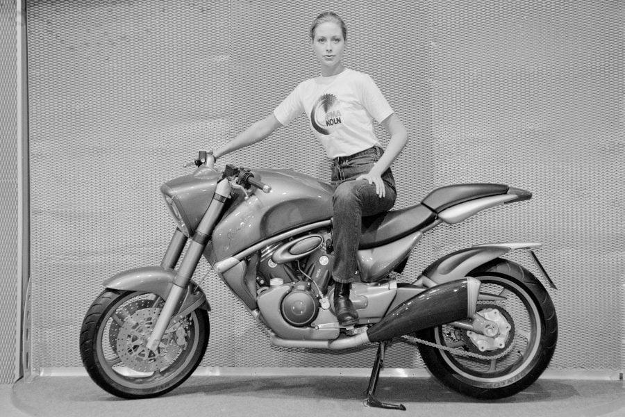 Internationale Fahrrad- und Motorradmesse, IFMA, 1996, N 395, Film 22, Negativ 26
