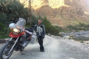 Dubai to Dublin: Expat Repatriation by BMW R 1200 GS