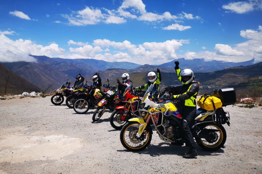moonlighting as a motorcycle tour guide