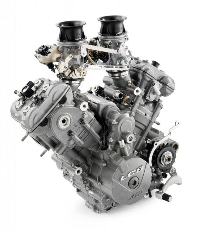 KTM CFMoto LC8 Engine