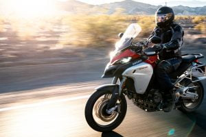A dream adventure on a new 2020 Ducati 1260 Multistrada Enduro