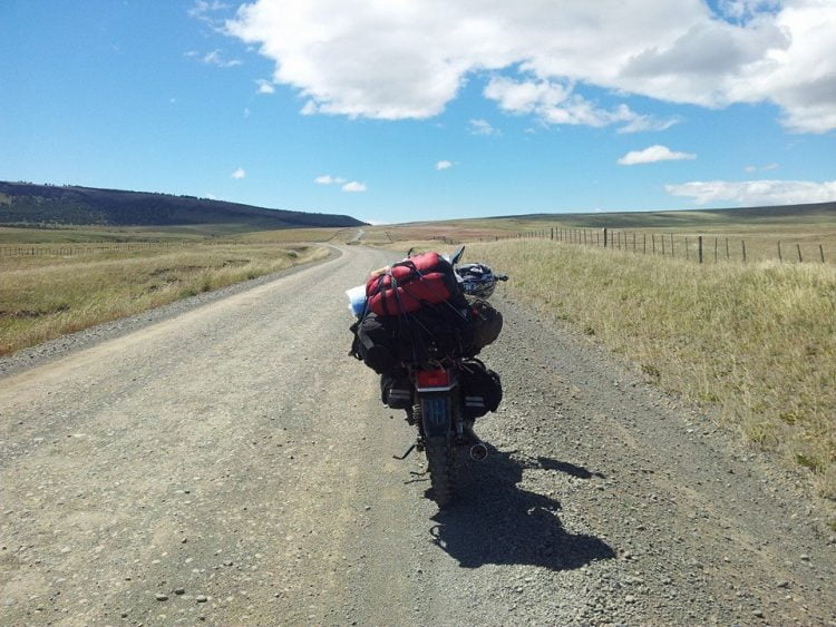 Spending Christmas On the Road: The Moto Grinch ADV Rider