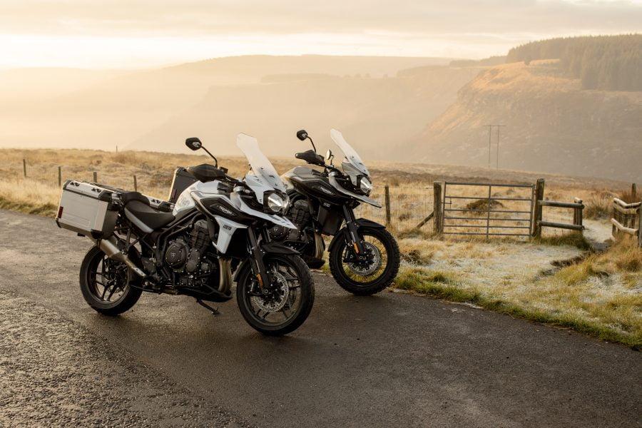 Triumph's new 1200 sub-models. Photo: Triumph