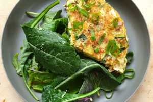 Zucchini Bacon Frittata. Photo @Kylie Day