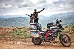 Awesome Humans: Kinga And Her RTW Adventures in Africa ADV Rider