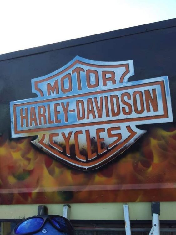 Harley Davidson Bar and Shield logo