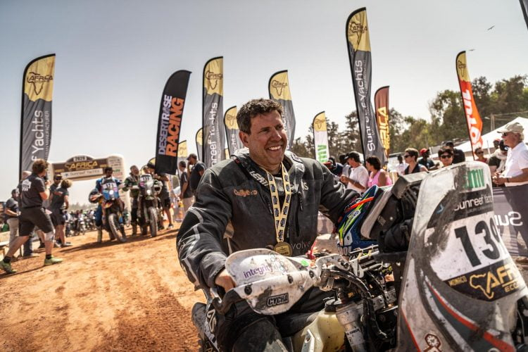 Awesome Humans: Robin vs the Africa Eco Race. What It's Like to Race as a Privateer