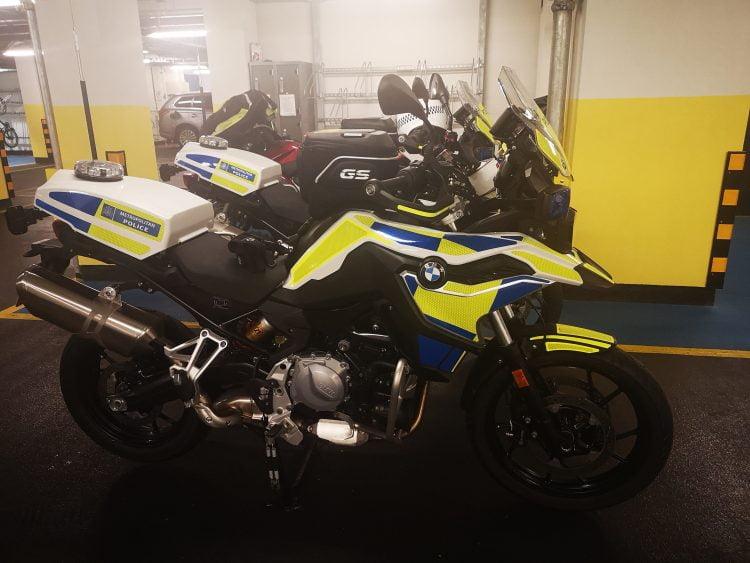 Met Police BMW F750GS Scorpion