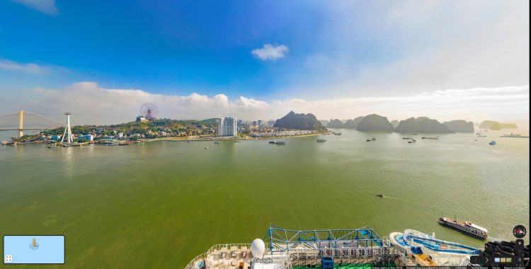 Ha Long Tourist Port. You will never find a more wretched hive of scum and villainy.