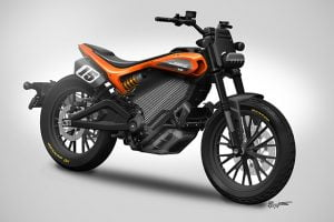 Could this machine be the start of a new performance-oriented future for Harley-Davidson? Photo: Harley-Davidson