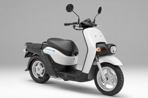 The Benly-E is an adaptation of an earlier Honda scooter design. Photo: Honda