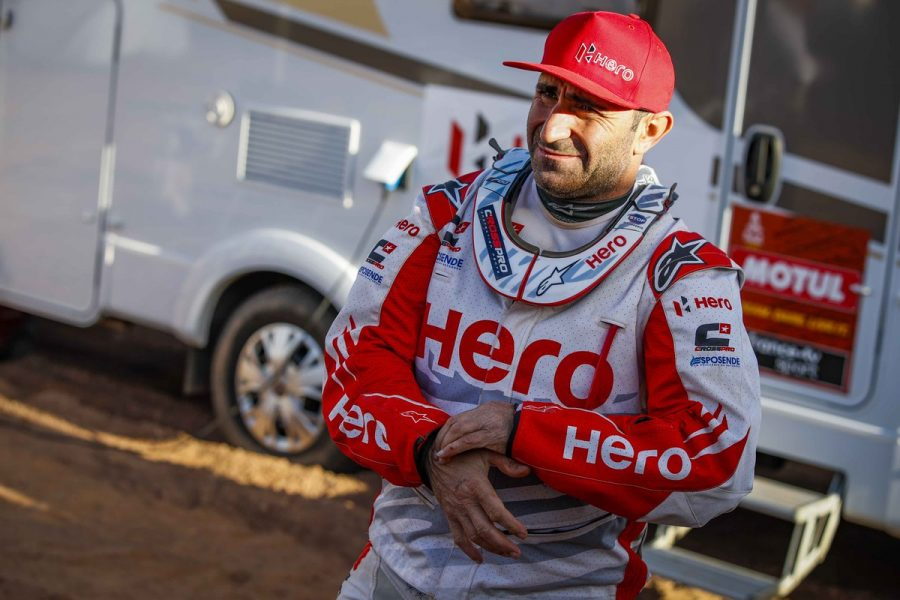 Paulo Goncalves has died after a crash on Stage 7. Photo: Dakar