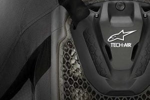 The new Tech-Air 5 vest will be unveiled at CES this week. Photo: Alpinestars