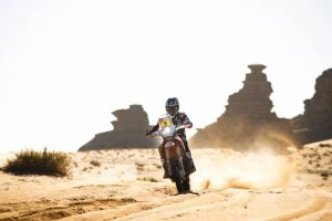 Dakar 2020 Stage 3: Brabec Wins Stage, Beveren Out ADV Rider
