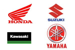 Japanese big 4 motorcycle manufacturers