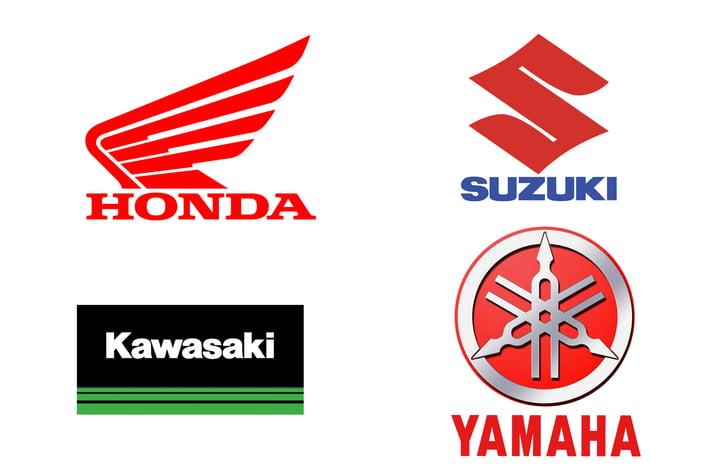 Japanese big 4 motorcycle manufacturers
