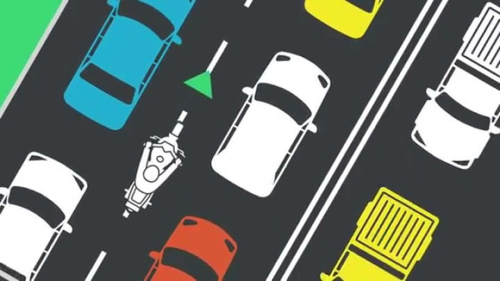 Lanesplitting is being proposed in new states every year. Photo: Transport New South Wales
