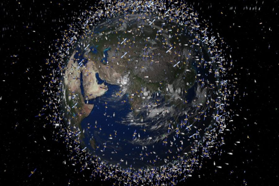 Global Connectivity. Source https://www.universetoday.com/85322/what-is-low-earth-orbit/