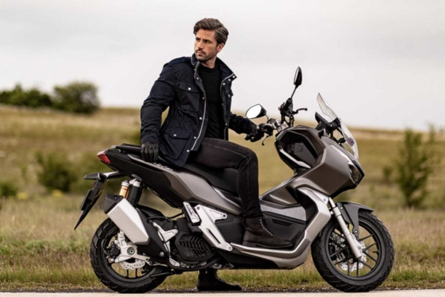 Although it's supposedly an adventure scooter, this marketeering shot makes it look more like a hipster bike. Photo: Honda