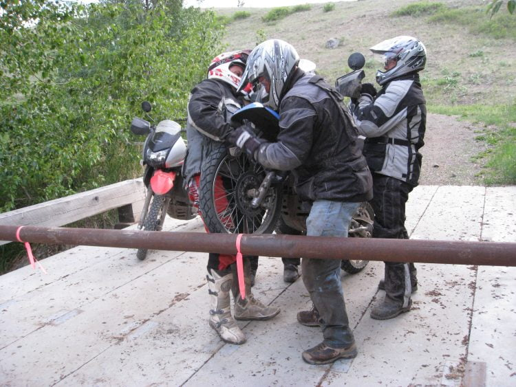 """Should have """"hammered out the route,"""" just north of Cache Creek, B.C."""