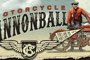 This year's ride heads north-south. Photo: Motorcycle Cannonball