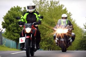 Riders in the UK must complete certified training before getting a full licence. Photo: DVSA