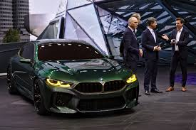BMW M8 high status luxury car