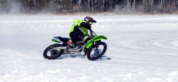 Motorcycle ice racing