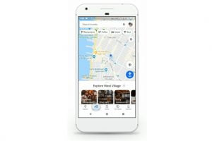 New updates make Google Maps better for commuters. Photo: Google