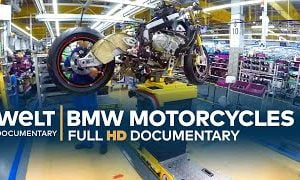 Documentary Features BMW's Motorcycle Factory