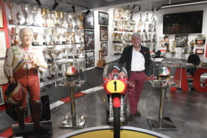Dinner with Ago, and a guided tour of his museum