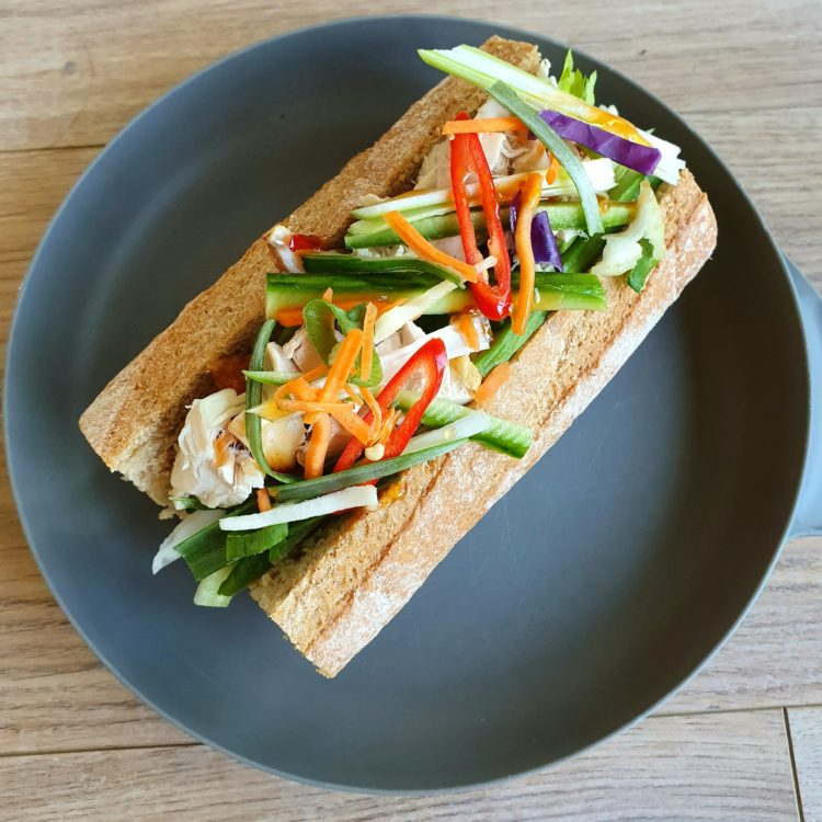 Cheats chicken Banh Mi. Photo @Kylie Day
