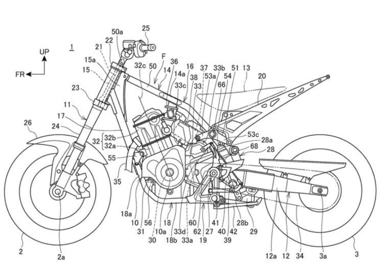Honda Patent - Cradle Version