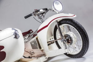 This 349cc Majestic 350 from 1930 will be at the exhibition 349 cc