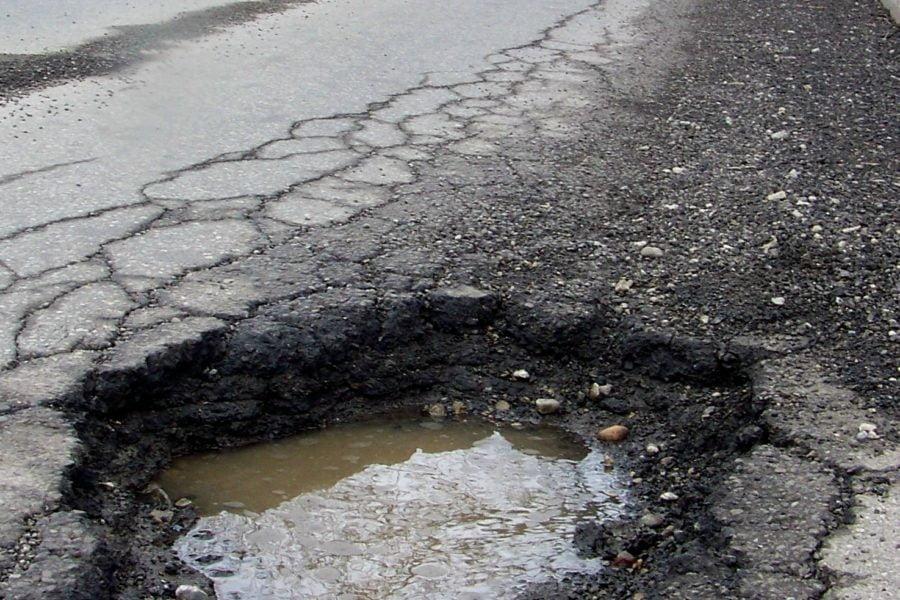 A Large Pothole