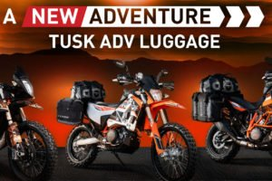 Tusk has new adventure luggage options. Photo: RMATV